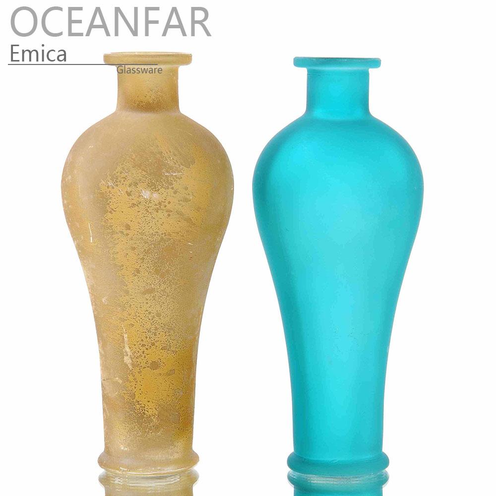 复古色玻璃花瓶