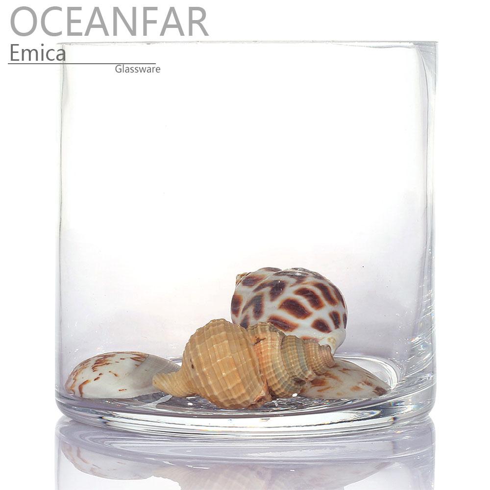 小型圆柱形鱼缸