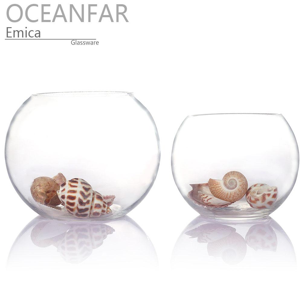 透明圆形鱼缸